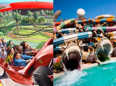 Combo Tickets - Ferrari World & Yas Water World Abu Dhabi
